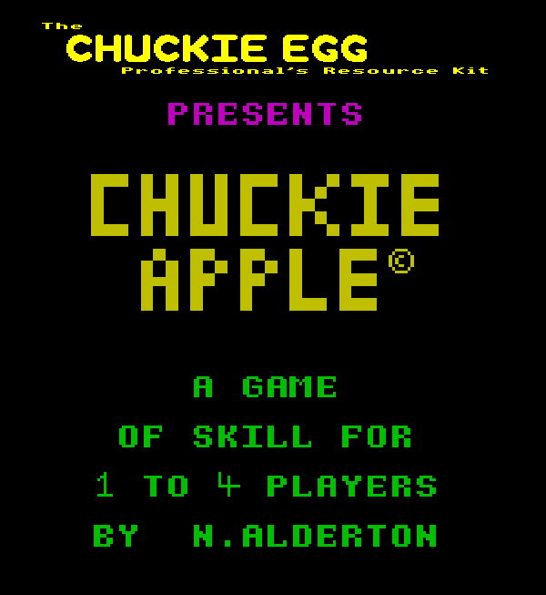 Chuckie Apple Logo